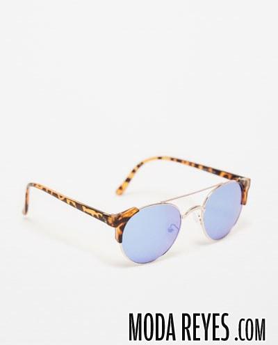 gafas de hombre con cristales en azul