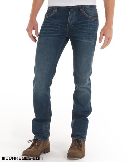 jeans pitillo para hombre