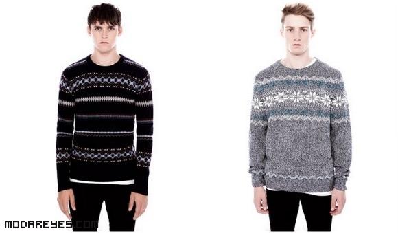 estampados de moda en jerséis