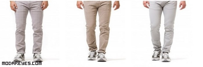 pantalones de tela para hombre