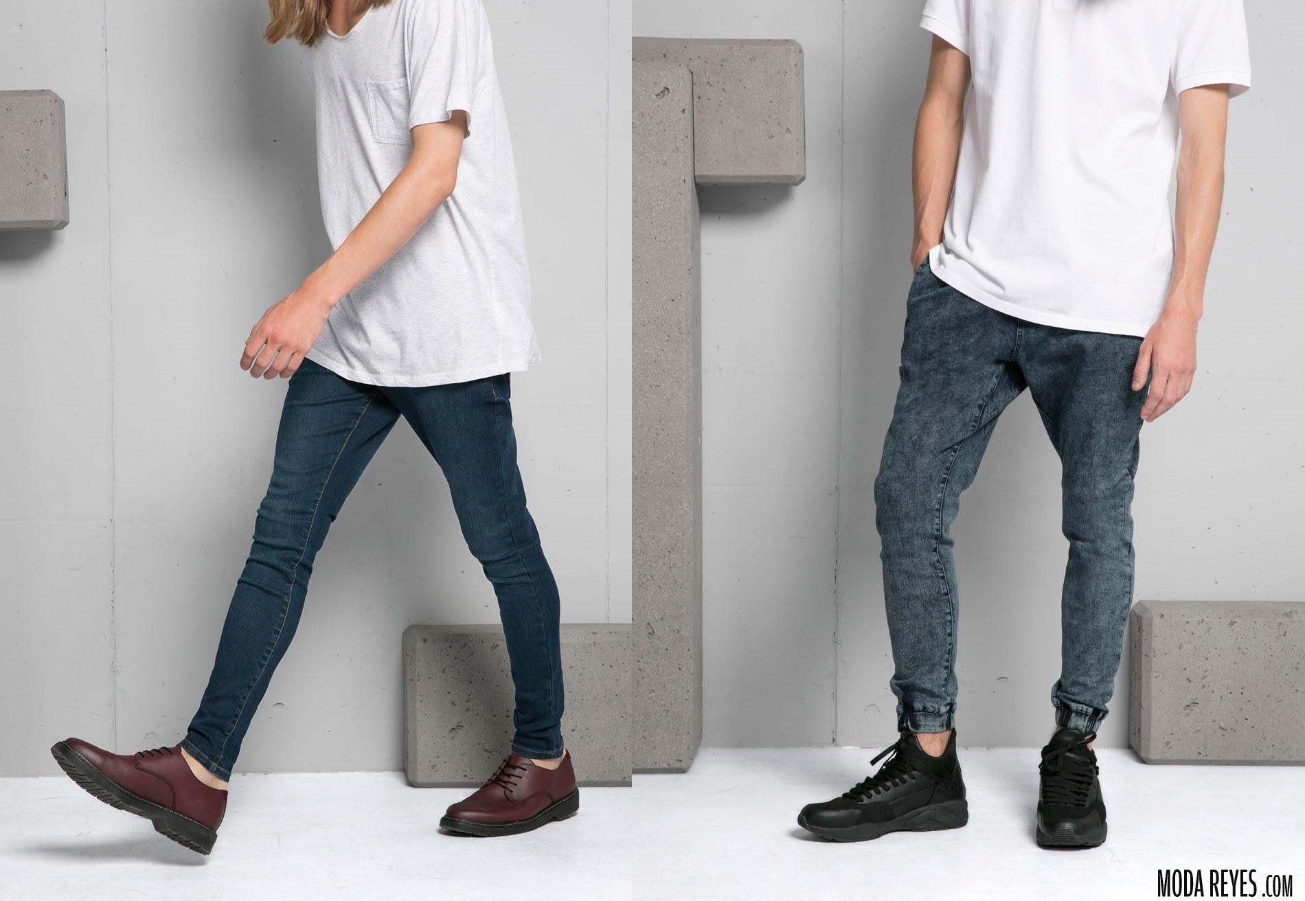 pantalones para otoño de bershka