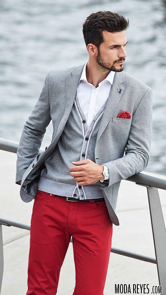 pantalones rojos de roy robson