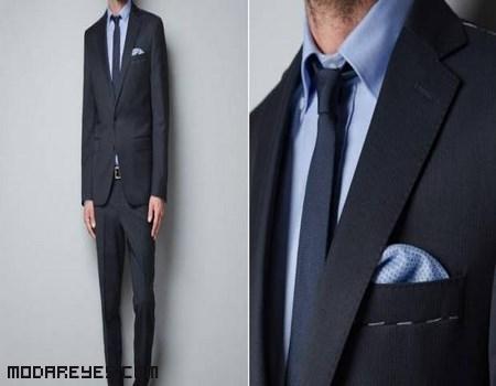 trajes de hombre oscuros