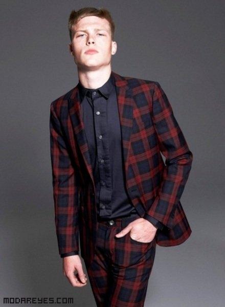 trajes de moda para hombres