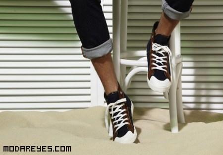Zapatillas de cordones Blanco