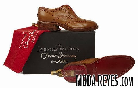 zapatos marrones de johnny walker