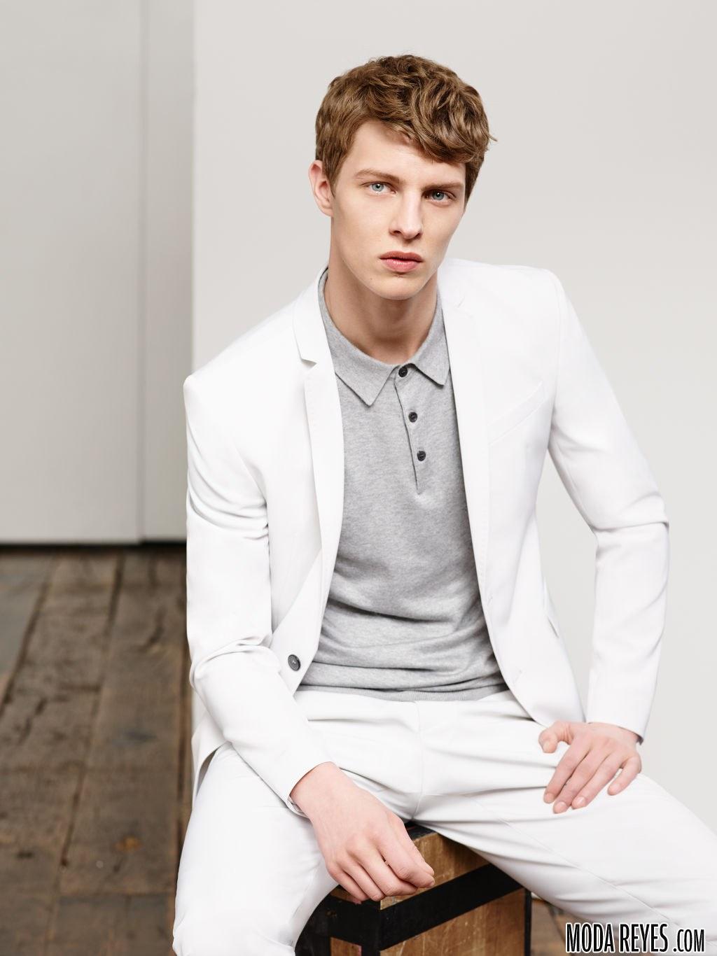 zara traje blanco
