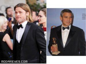 Hombres elegantes en los Globos de Oro 2012