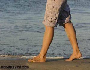 Ponte en forma en la playa