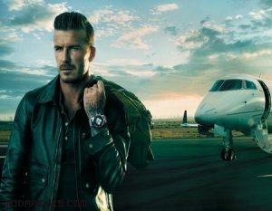 David Beckham nueva imagen de Breitling