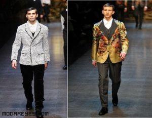 Chaquetas estampadas de la mano de Dolce&Gabbana