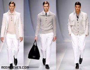 Combina tus pantalones blancos de moda
