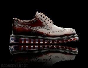 Zapatos Prada con cámara de aire