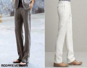Los pantalones de lino son la estrella del verano
