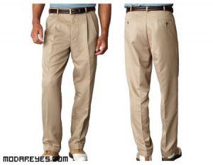 Los pantalones de pinzas vuelven a la carga