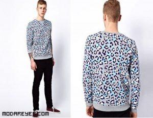 Sudaderas con print leopardo a la moda