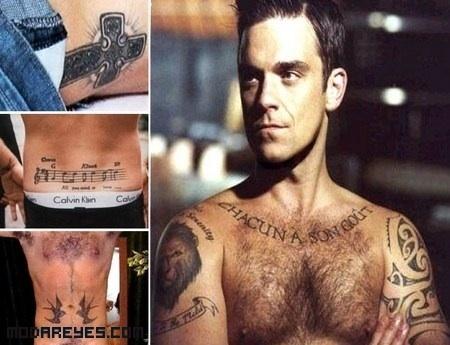 Tatuajes De Hombres Famosos Moda Reyes