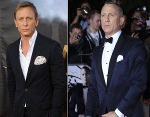 Copia el estilo de Daniel Craig