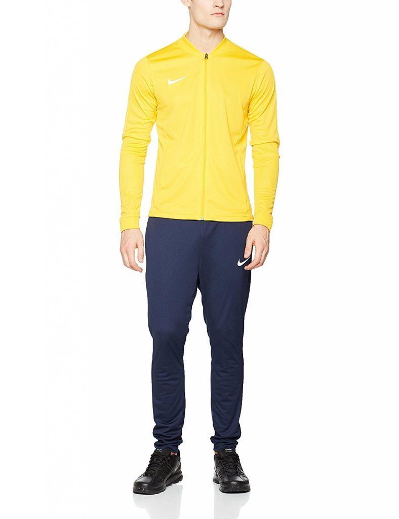 chandal amarillo para hombre