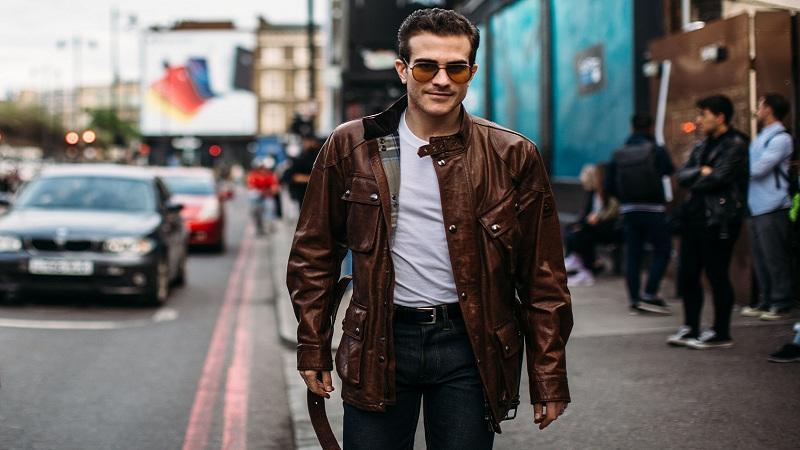 elegir una chaqueta de cuero